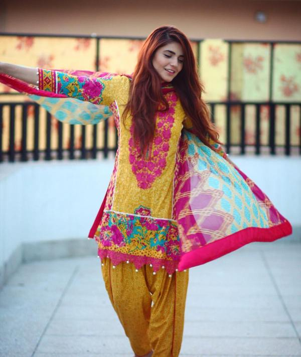 Momina Mustehsan in traditional wear