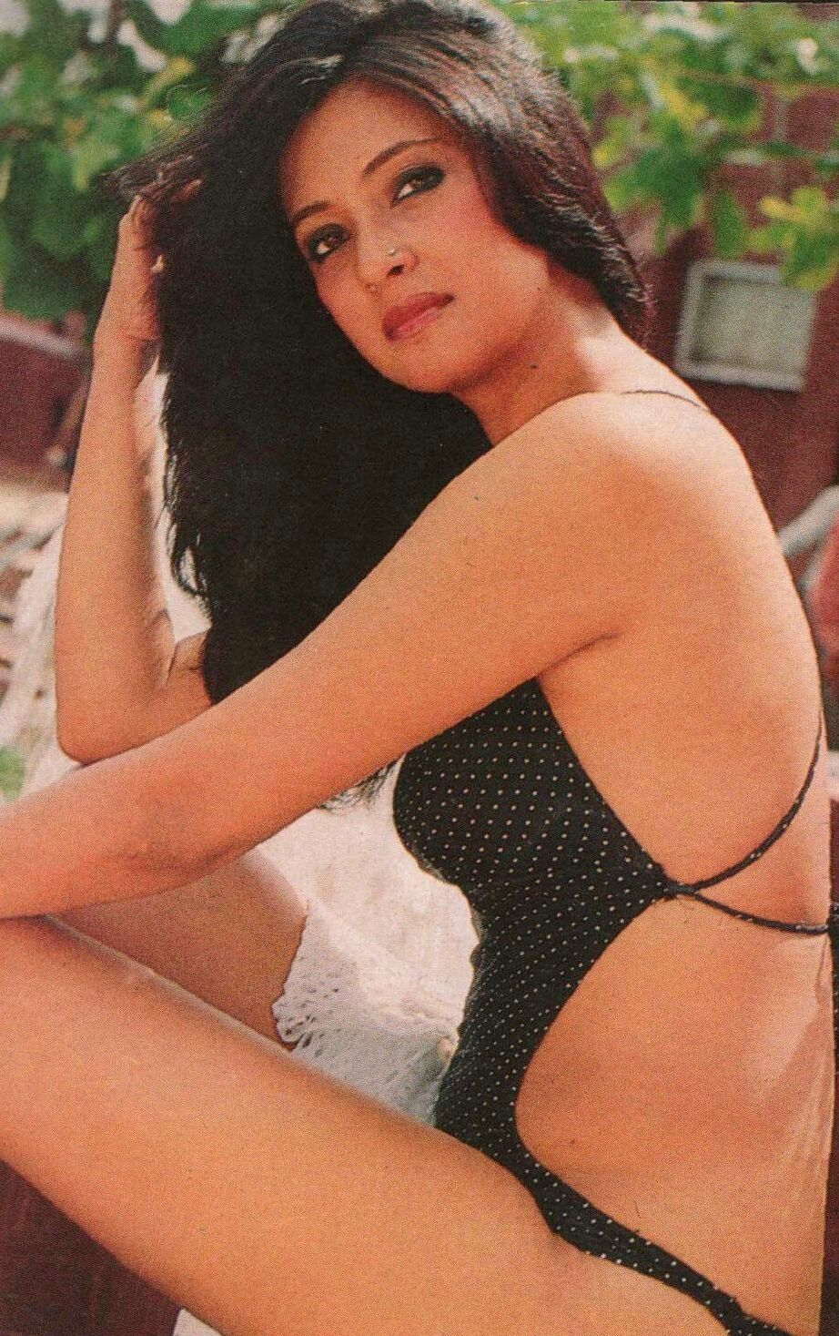 Moon Moon Sen In A Bikini Photo Shoot