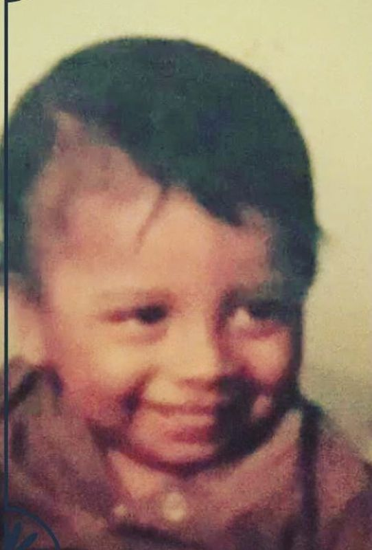Nakash Aziz in his childhood