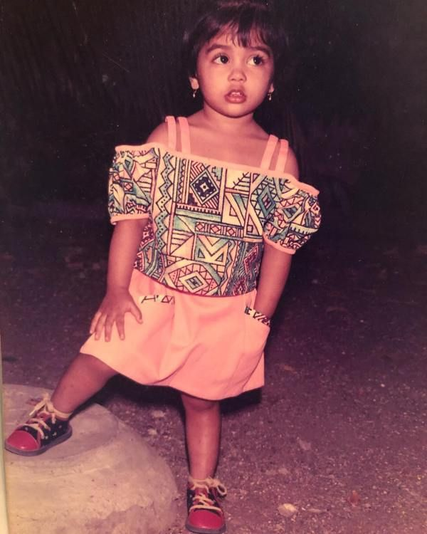 Pooja Hegde As a Child
