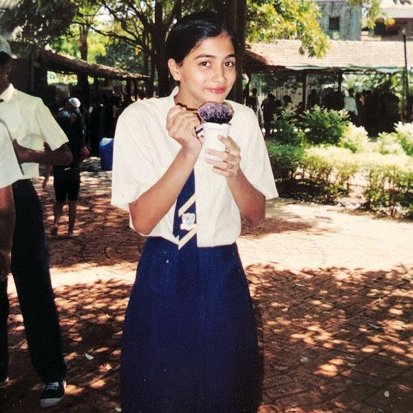 Pooja Hegde During Her School Days