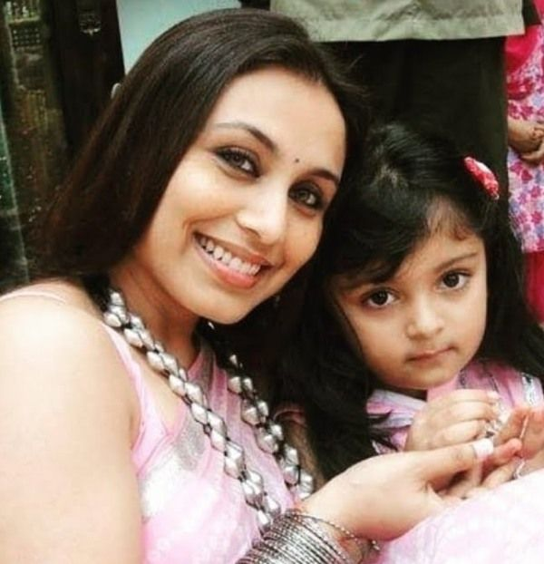 Rani Mukherji With Her Daughter, Adira Chopra