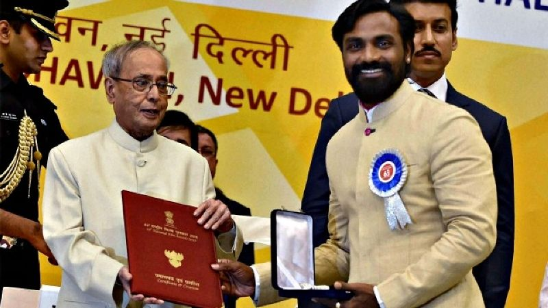 Remo D' Souza Receiving National Award