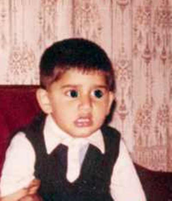 Rohit Shekhar Tiwari As A Child