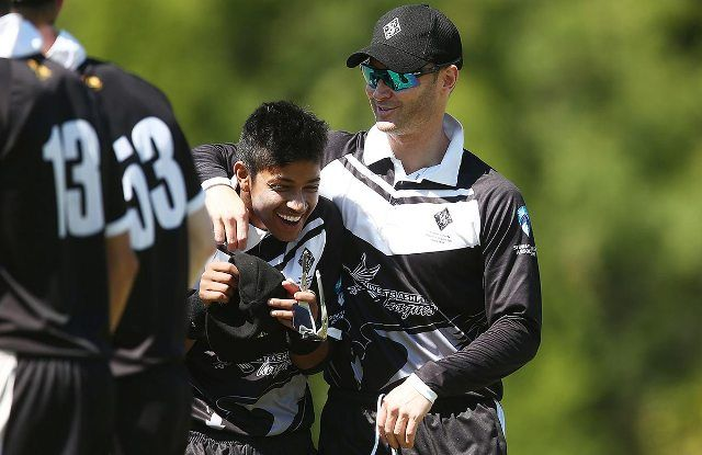 Sandeep Lamichhane and Michael Clarke