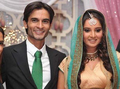 Sania Mirza with Sohrab Mirza
