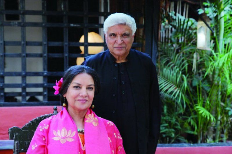Shabana Azmi And Her Husband Javed Akhtar