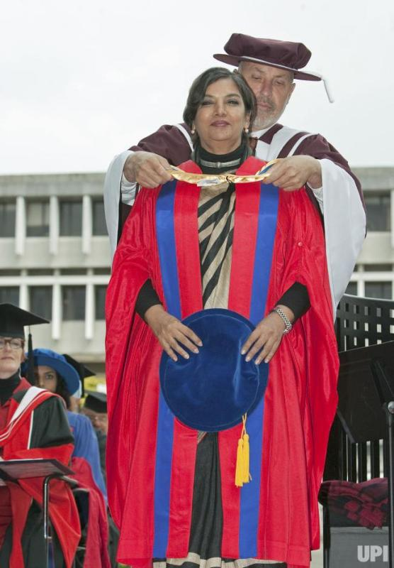Shabana Azmi Receiving Honorary Doctorate By Simon Fraser University