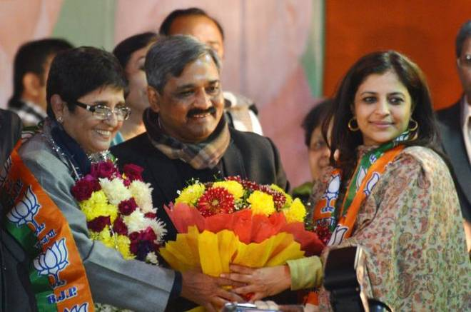 Shazia Ilmi welcomed to BJP
