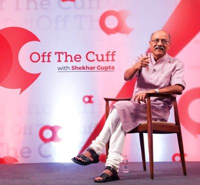 Shekhar Gupta In Off The Cuff