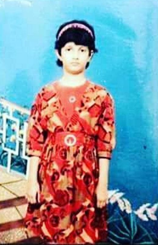 Srabanti Chatterjee As A Child