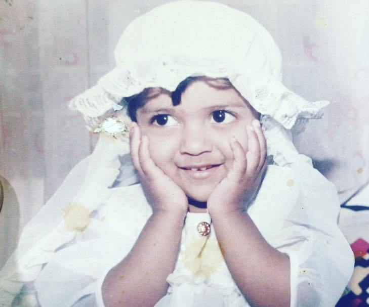 Swarda Thigale childhood picture