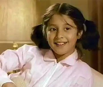 Urmila Matondkar childhood picture