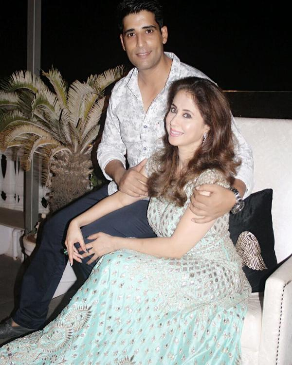 Urmila Matondkar with her husband
