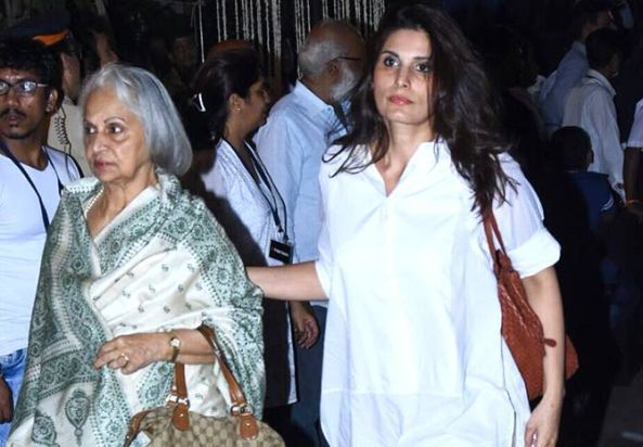 Waheeda Rehman With Her Daughter Kashvi