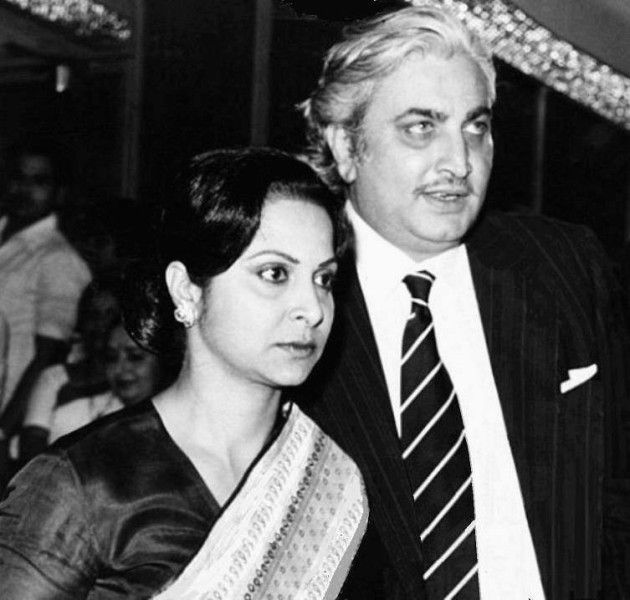 Waheeda Rehman With Her Husband Shashi Rekhi