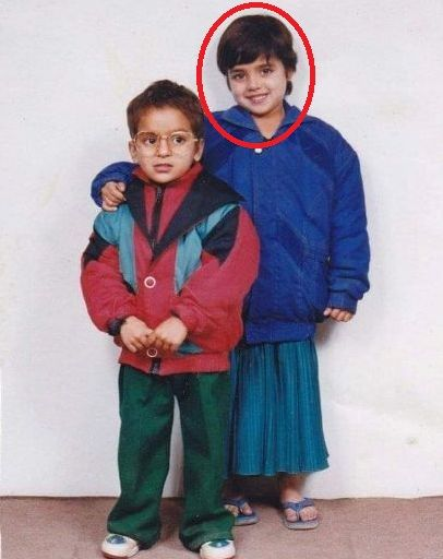 Wamiqa Gabbi's childhood picture