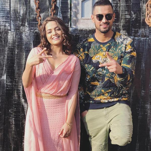 Wamiqa Gabbi with Garry Sandhu