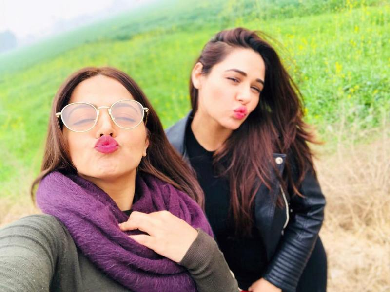 Wamiqa Gabbi with Mandy Takhar