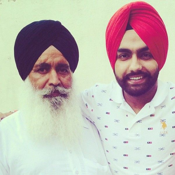 Ammy Virk with his father