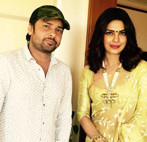 Amrinder Gill with Priyanka Chopra