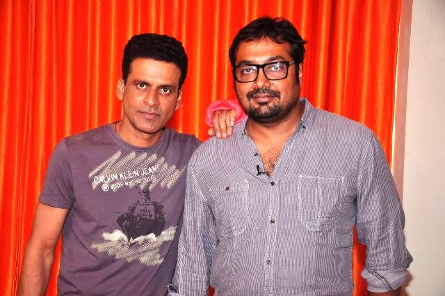 Anurag Kashyap and Manoj Bajpayee