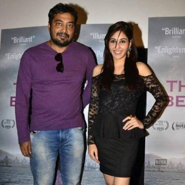 Anurag Kashyap with his ex-wife, Aarti Bajaj
