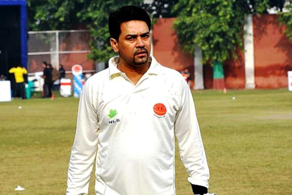 Anurag Thakur Playing The Ranji Trophy