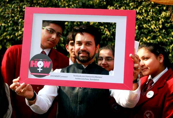 Anurag Thakur's Honour Our Women Foundation