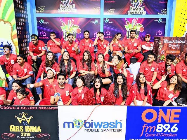 Aparna Dixit with her BCL team