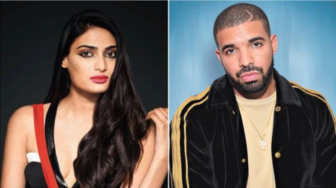 Athiya Shetty and Drake