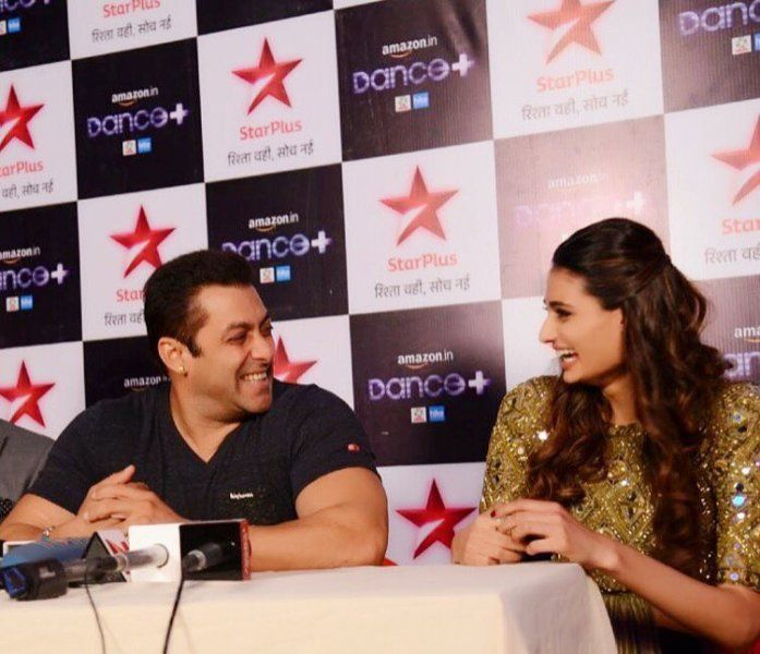 Athiya Shetty with Salman Khan