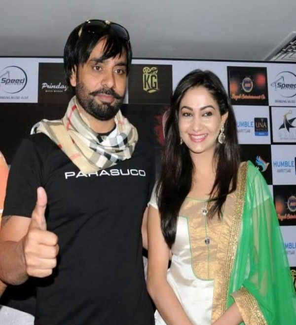 Babbu Maan with his wife