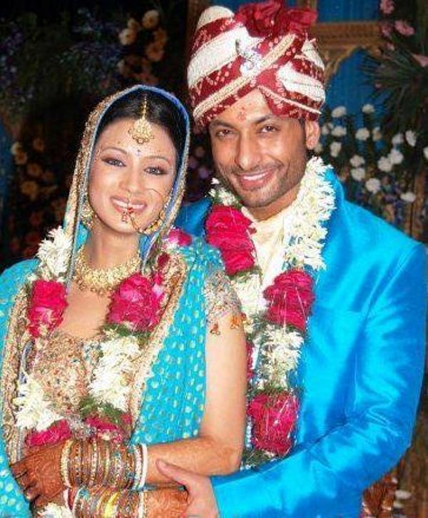 Barkha Bisht And Her Husband, Indraneil Sengupta