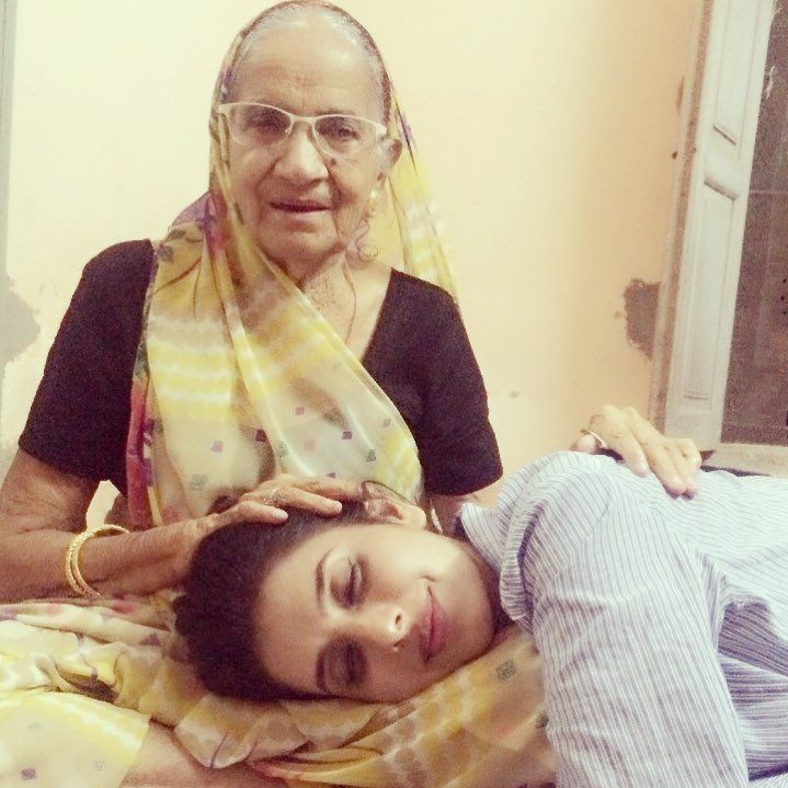 Charu Asopa And Her Maternal Grandmother