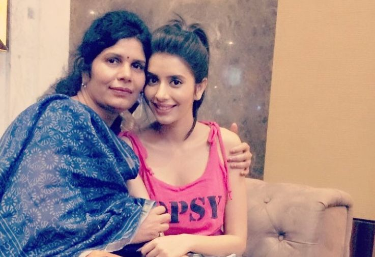 Charu Asopa With Her Mother