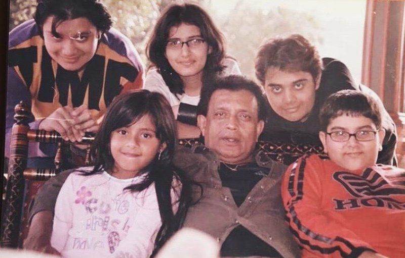 Dishani Chakraborty With Her FamilyDishani Chakraborty With Her Family