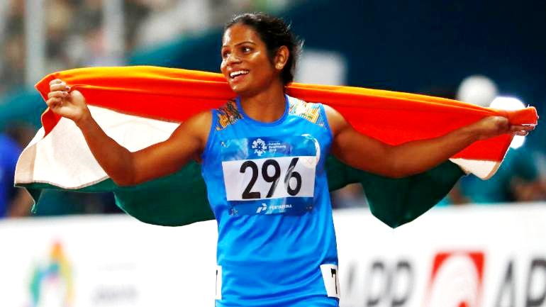 Dutee Chand After Becoming The National Champion