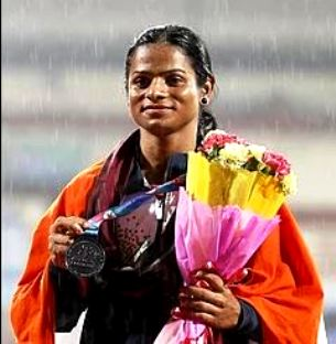 Dutee Chand After Winning The Bronze Medal