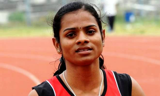 Dutee Chand During Her College Days
