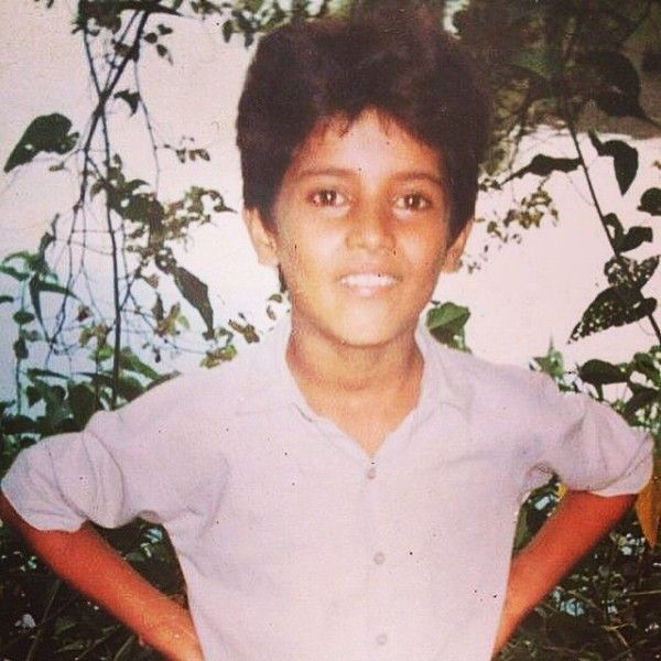 Garry Sandhu's childhood picture
