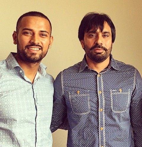 Garry Sandhu with Babbu Maan