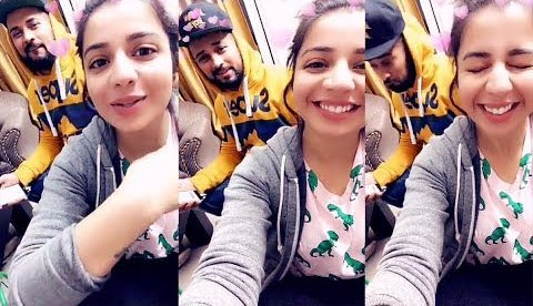 Garry Sandhu with Jasmine Sandlas