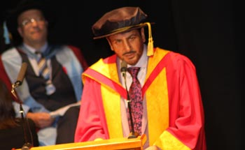 Gurdas Maan awarded the Honorary Degree of Doctor of Music