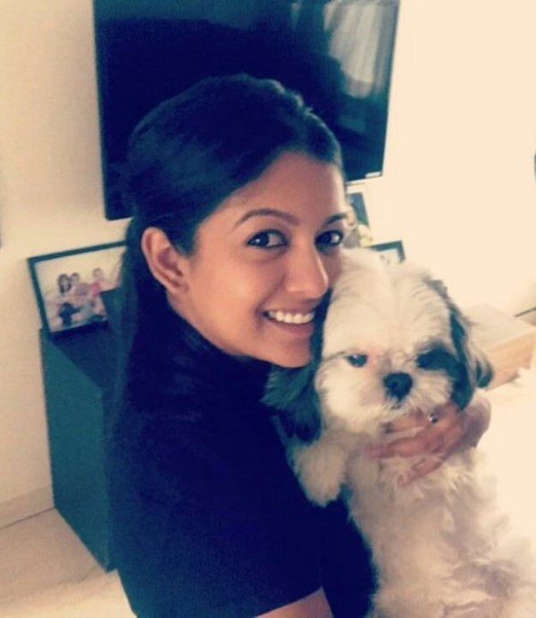 Ishita Dutta With Her Dog