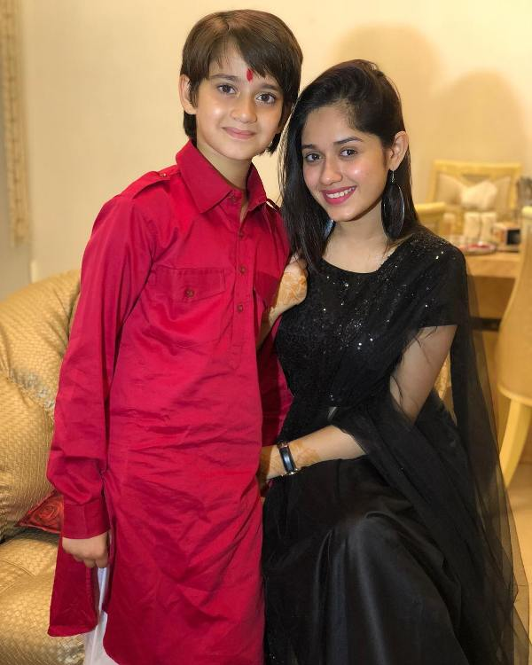 Jannat Zubair Rahmani With Her Brother, Ayaan