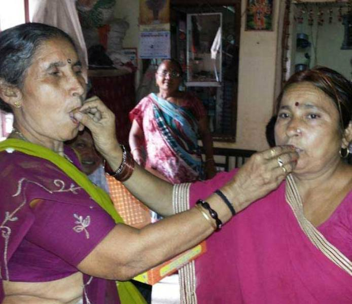 Jashodaben's After Modi's Win In 2014 Lok Sabha Elections