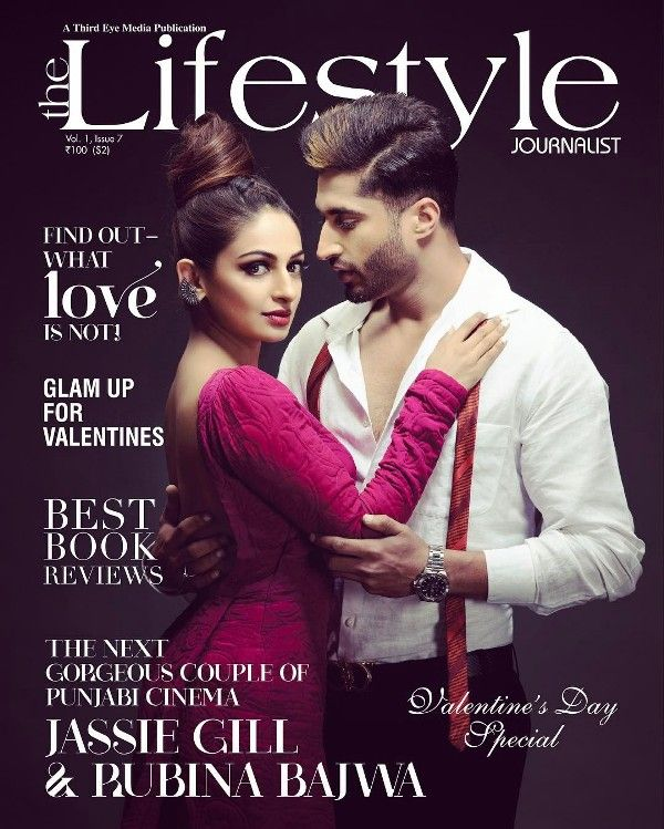 Jassie Gill on the cover of Lifestyle Magazine