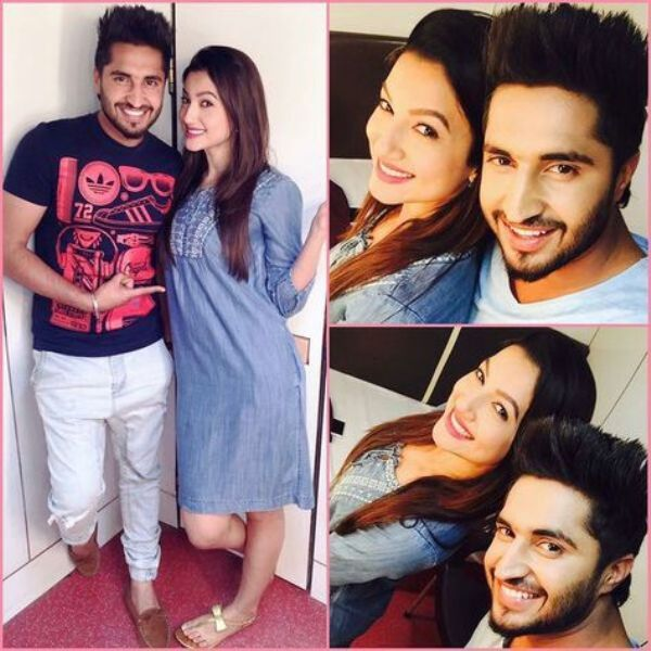 Jassie Gill with Gauhar Khan