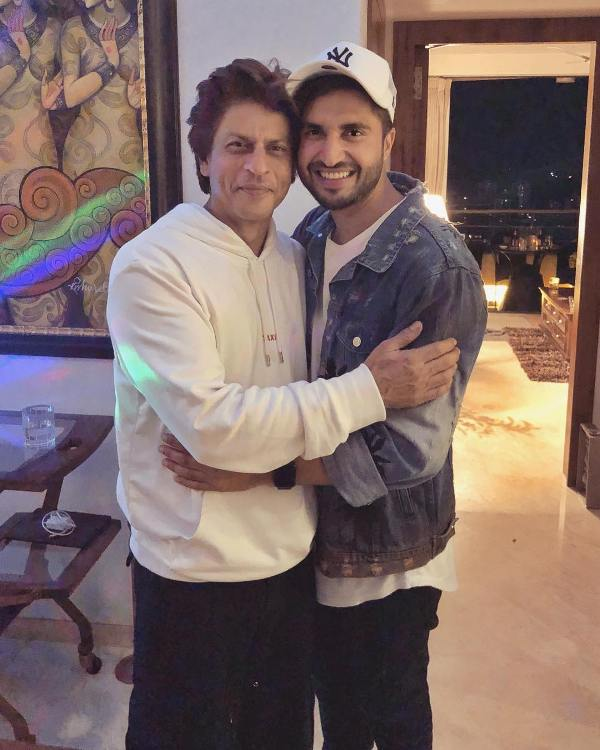 Jassie Gill with Shah Rukh Khan